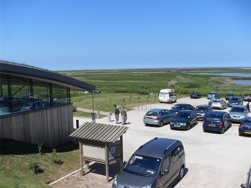 Cley - Visitor centre and marshes